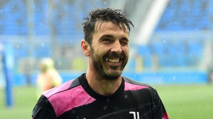 Buffon with Juventus