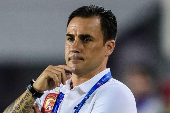 Cannavaro leaves his Chinese team