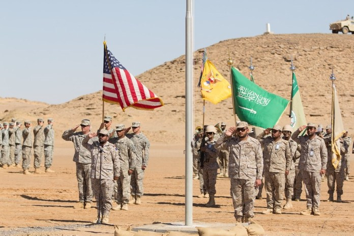 Agency: America is studying the possibility of establishing additional military bases in Saudi Arabia