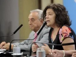 La ministra de Salud, Carla Vizzotti, encabezará la reunión de la Comisión de Inmunizaciones.