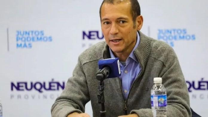 """""""Lo logrado este año es muy importante porque la pandemia de coronavirus afectó a todo el mundo, sin embargo ninguna empresa se fue de Neuquén, por el contrario, llegaron más"""", destacó el gobernador Omar Gutiérrez."""