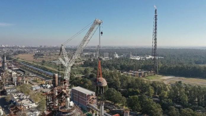 El CILP YPF es uno de los complejos más importantes de América del Sur y uno de los activos industriales más dinámicos de la Argentina.