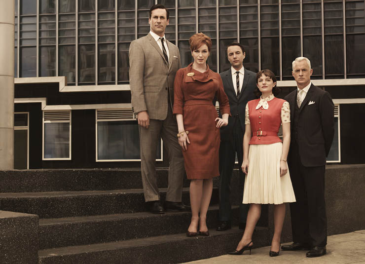 When new media meant TV--Mad Mens Sterling Cooper Agency was ready to make the leap.