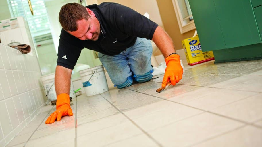 how does regrouting tile work angi