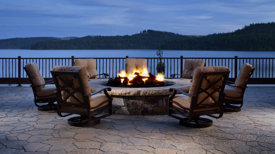 cost to install a fire pit
