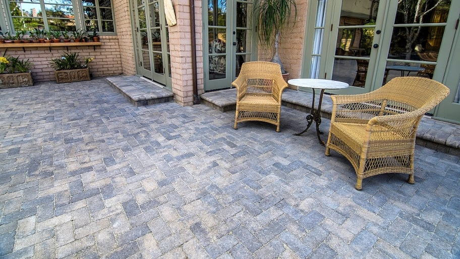 why installing pavers over concrete is