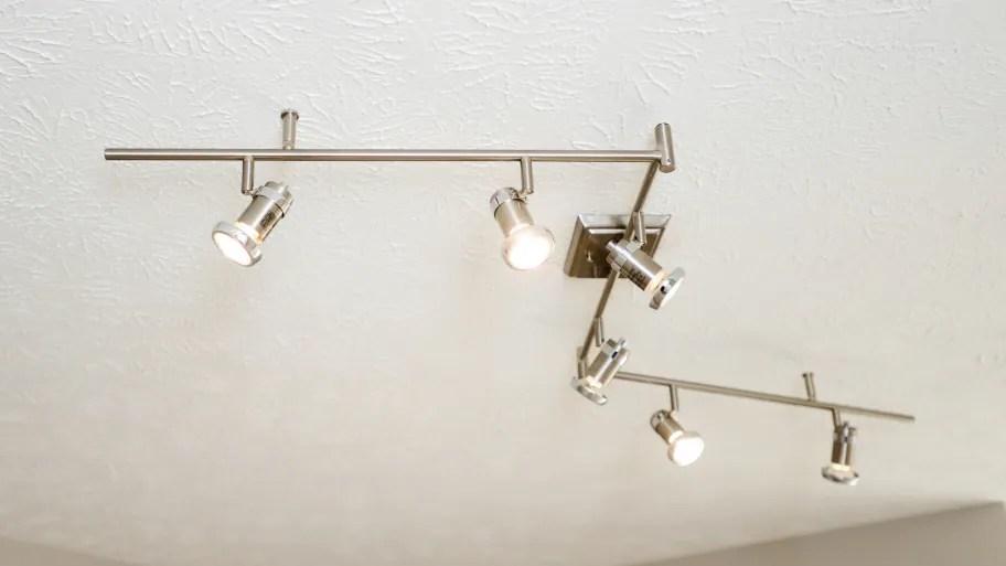 bathroom track lighting an