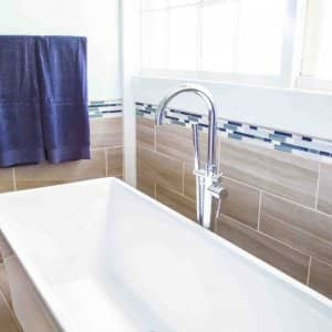 choosing bathroom floor and wall tile