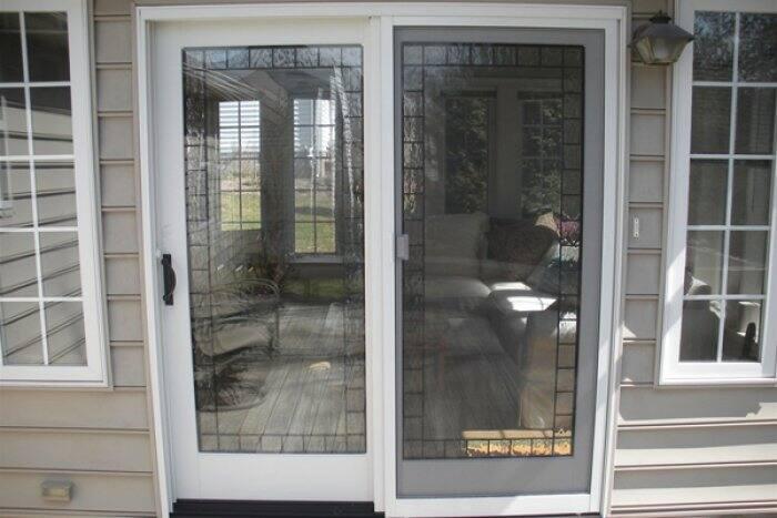 which patio door material is best for