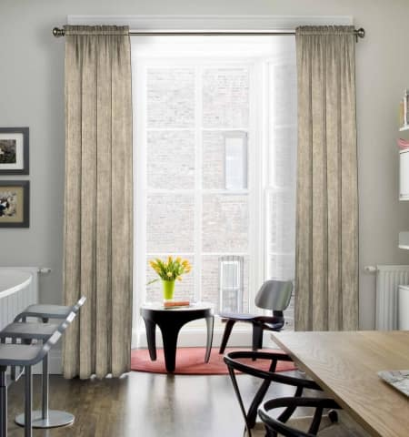 12 Types of Window Treatments   Angie's List on Farmhouse:-Cra1Rtrksu= Dining Room Curtains  id=28099