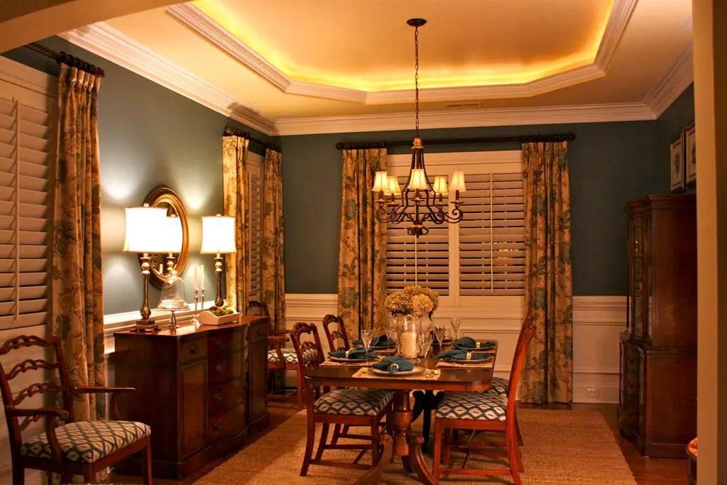15 Dining Room Curtains Ideas | Angie's List on Dining Room Curtain Ideas  id=49802