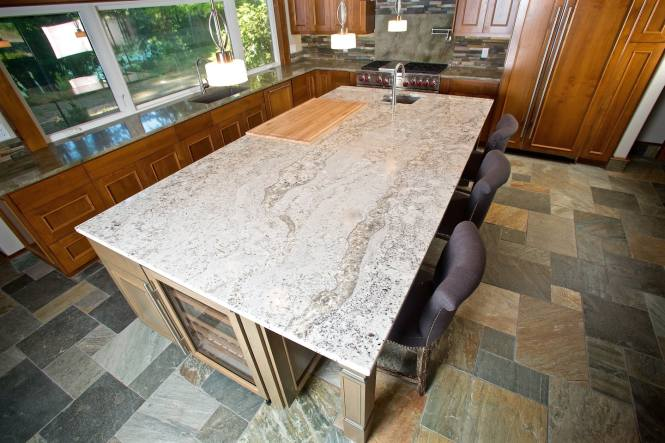 Where do granite countertops come from bstcountertops for Granite countertop width