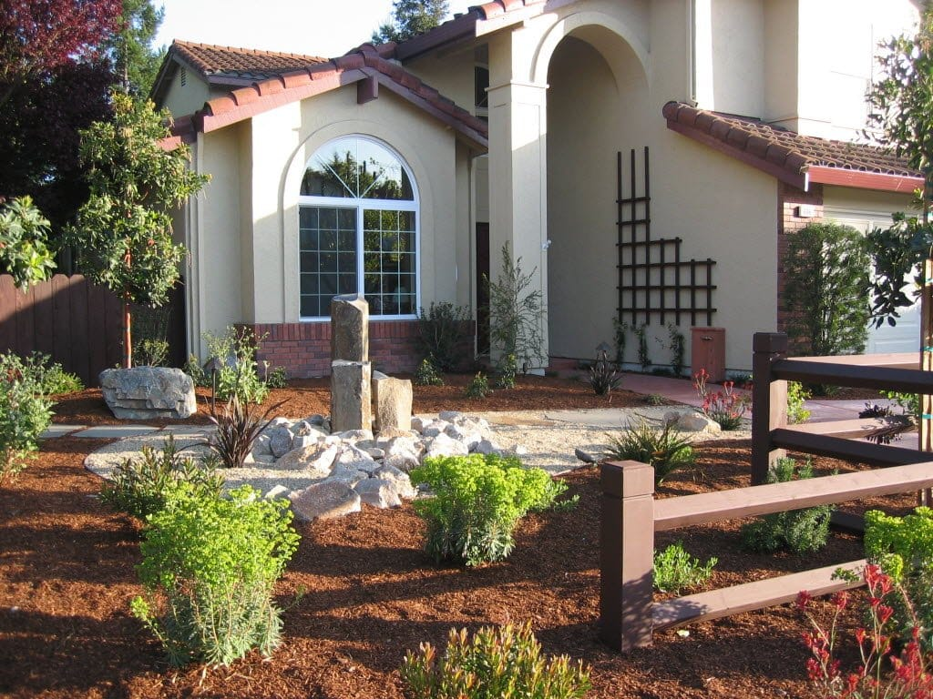 Front Yard Landscaping Ideas | Angie's List on No Lawn Garden Ideas  id=53419