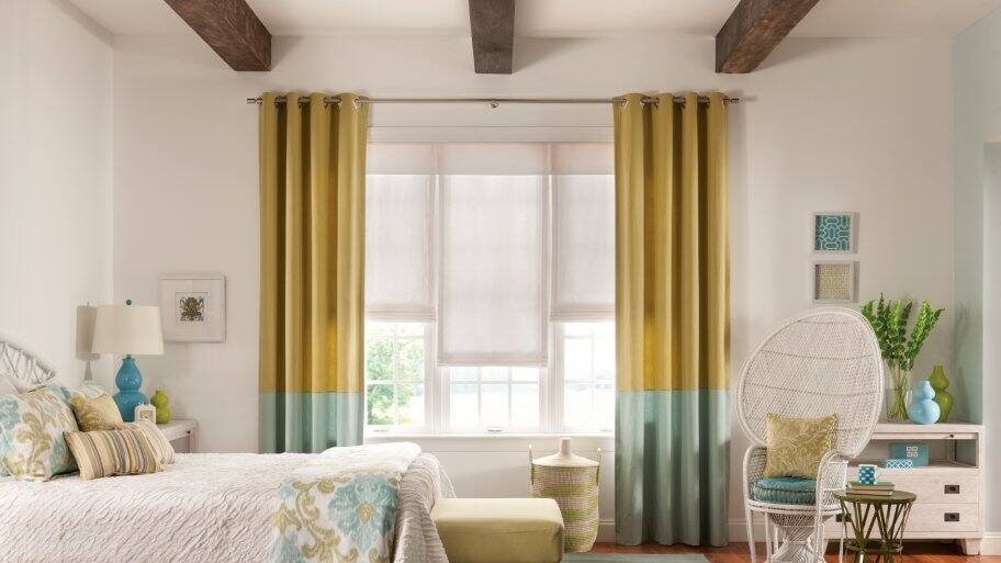 Window Treatment Ideas for Your Bedroom | Angie's List on Bedroom Curtain Ideas  id=76110
