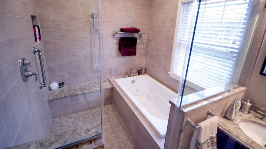A Wet Room Offers Versatile Bathroom Design | Angie's List on Wet Room With Freestanding Tub  id=78204