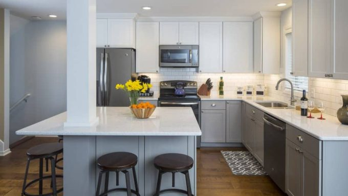 A Kitchen Remodel S Level Of Finish In Cabinets Countertops And Appliances Will Affect Its Photo Courtesy Fair Square Remodeling