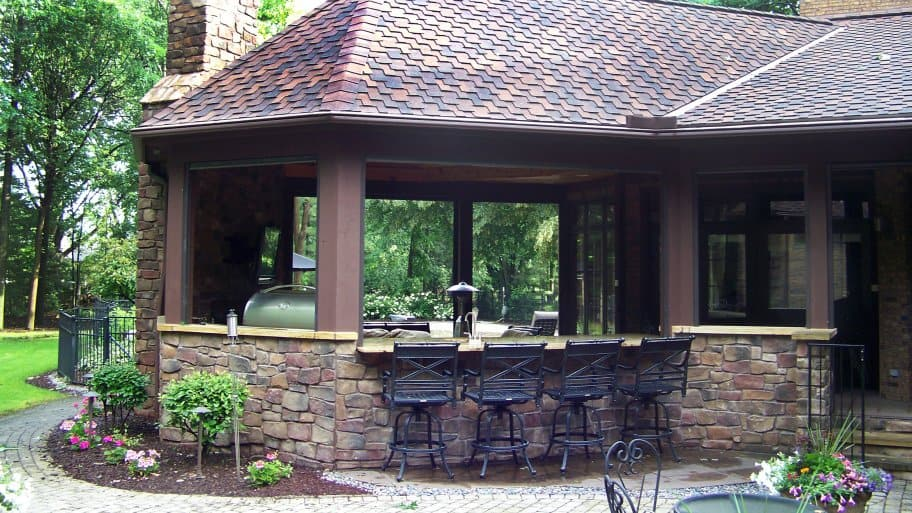 Outdoor Kitchens and Patios Add Living Space | Angie's List on Outdoor Kitchen Living Spaces id=23801