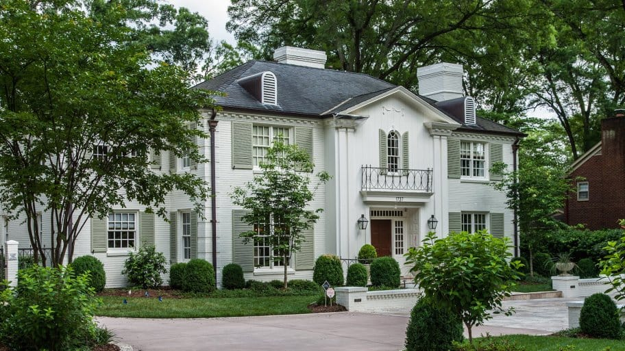 How to Paint Brick Home Exteriors   Angie's List on Brick House Painting Ideas  id=65519