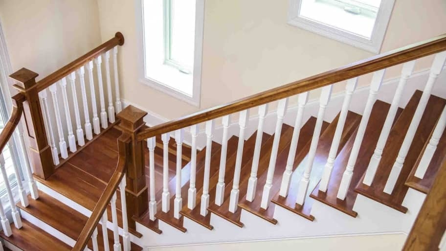 How To Refinish Indoor Stair Railings Angie S List | Replacing Stair Railing And Spindles | Paint | Newel Post | Iron Spindles | Wood Balusters | Stair Treads