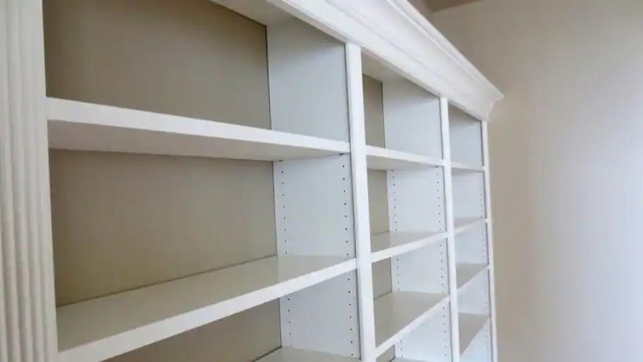 Member Photo: Beautiful Built-in Bookshelves
