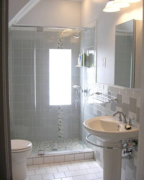 Small Bathroom Remodel Ideas Photo Gallery | Angie's List on Small Bathroom Renovations  id=77831