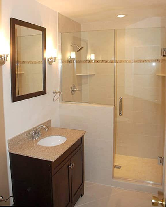 Small Bathroom Remodel Ideas Photo Gallery | Angie's List on Small Bathroom Renovations  id=29804