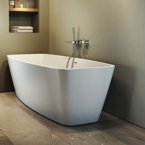 baignoire ilot geometrique esprit 170x80 cm jacuzzi
