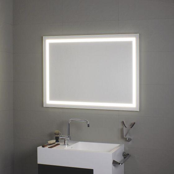 Miroir Avec Clairage LED Tout Au Tour Perimetrale Koh I Noor L4595 Miroir Salle De Bain