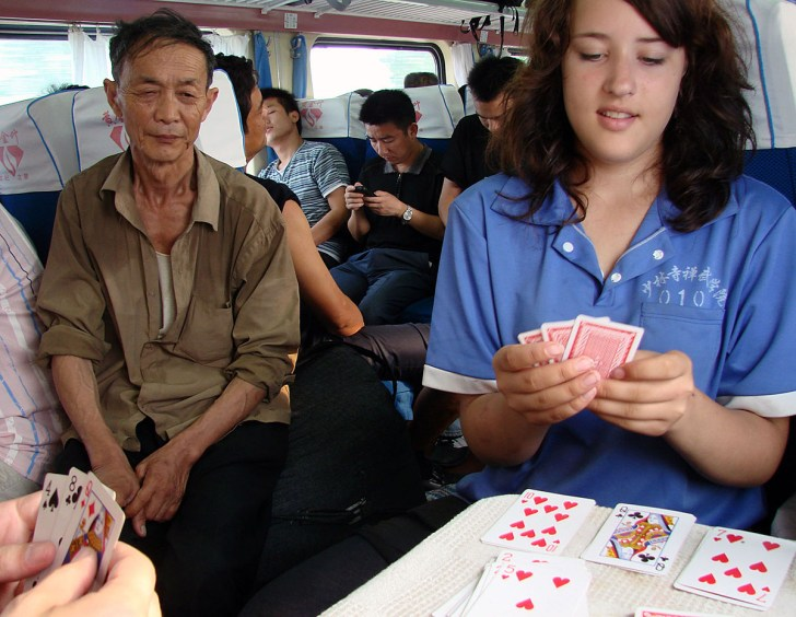 Kortspel mellan Beijing och Hong Kong