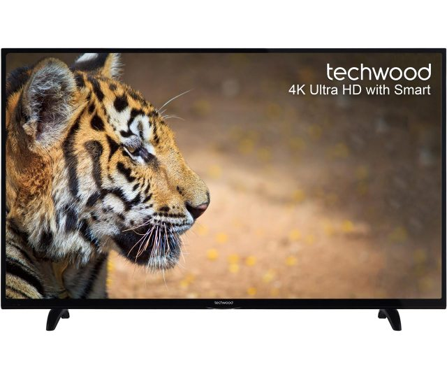 Techwood K Ultra Hd Tv For 350