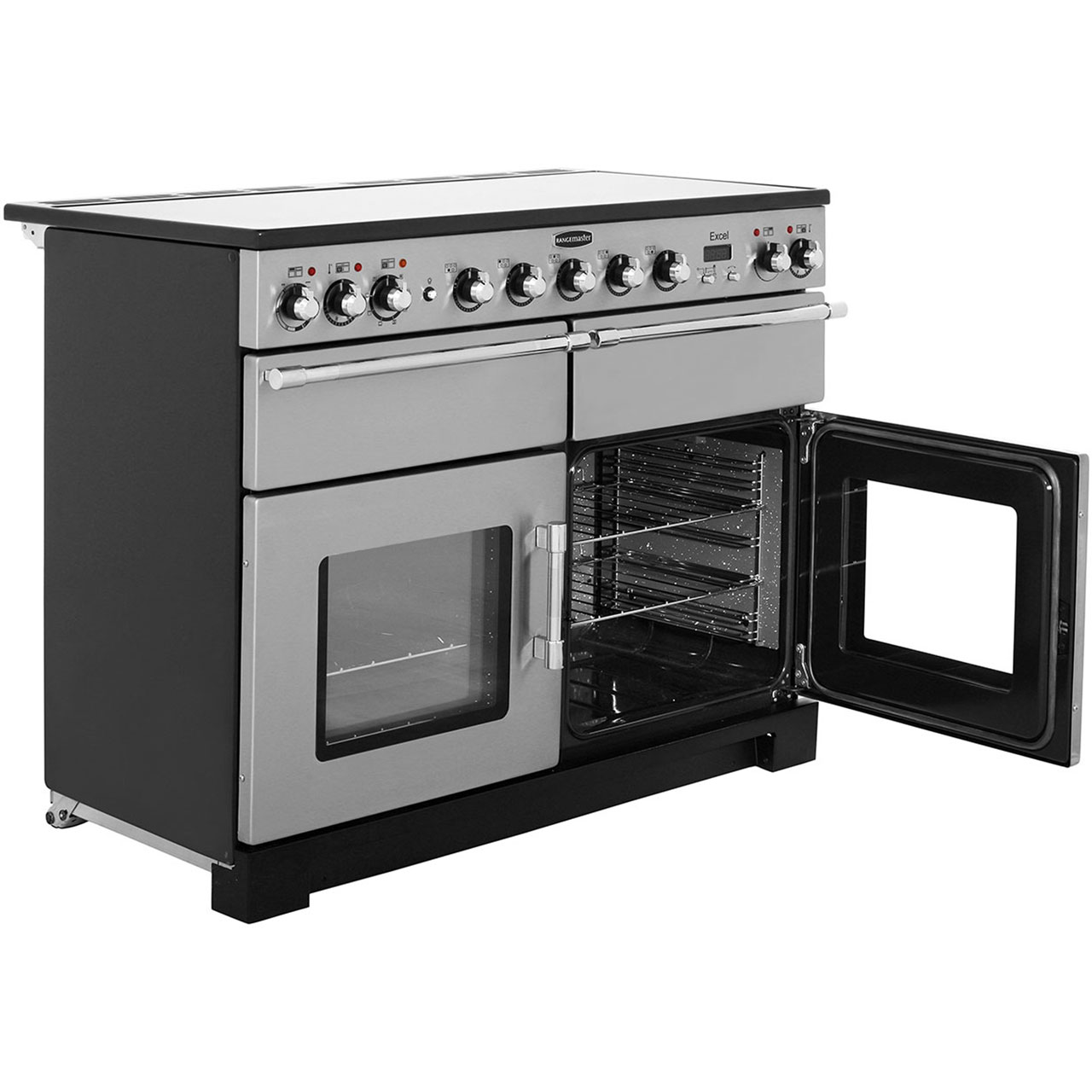 Rangemaster Exl110eisl C Excel 110cm 5 Burners A A Electric Range Cooker Slate