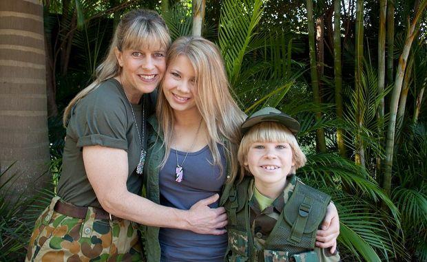 Robert And Bindi Irwin 2012