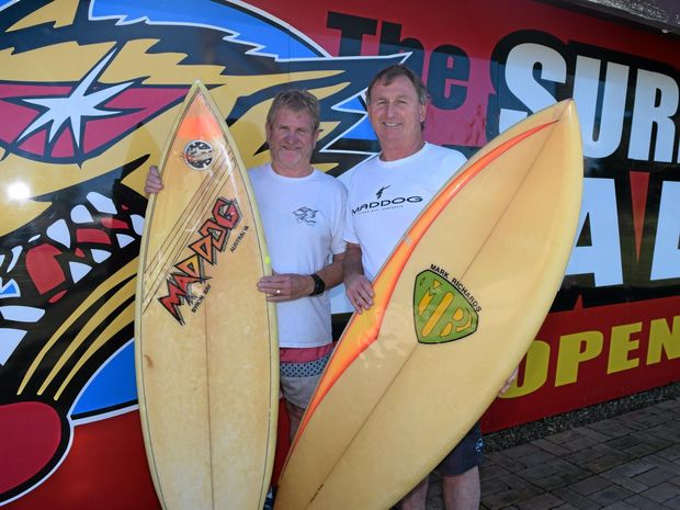 Founders of Maddog Surfboards John Morgan and Mark Plater have closed up shop after nearly 40 years.