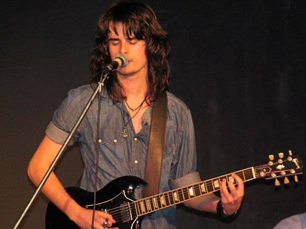 DON'T MISS: Local rock singer Jaeden Ogston will be performing at The Sticky Wicket Bar in Byron Bay tomorrow.