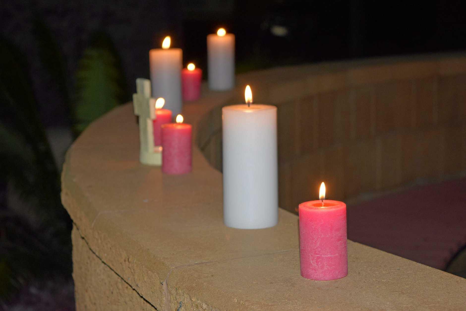 candle lighting ceremony tonight