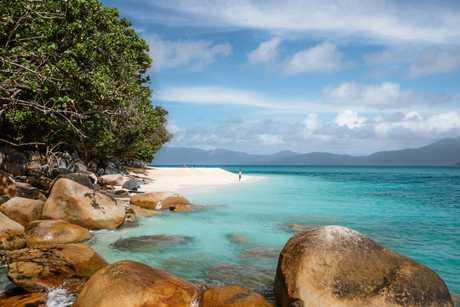 Nudey Beach, Fitzroy Island, Cairns.