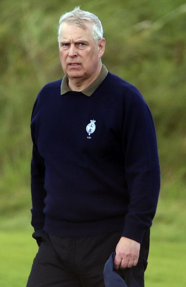 Prince Andrew has been under 'immense strain'. Picture: AP
