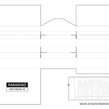 Paradiso White Building and folding board 1 (ii-graphics.nl)
