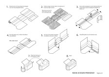 Paradiso White Building and folding board 2 (ii-graphics.nl)