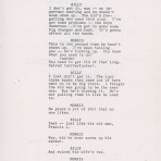 Purple Rain - Movie draft (page ..) (icollector.com)