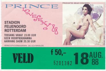 Prince 18-08-1988 concertkaartje (apoplife.nl)
