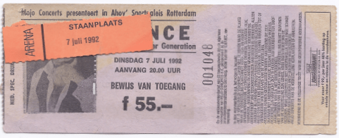 Prince & The New Power Generation 07-07-1992 concertkaartje (apoplife.nl)