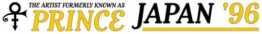 Japan '96 Tour (princevault.com)