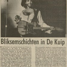 Prince - Nude Tour - Première recensie Nieuwsblad van het Noorden 05-06-1990 (apoplife.nl)