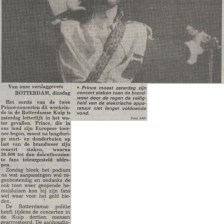 Prince - Nude Tour - Première recensie Telegraaf 05-06-1990 (apoplife.nl)