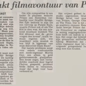 Prince - Graffiti Bridge film recensie - Algemeen Dagblad 04-05-1991 (apoplife.nl)