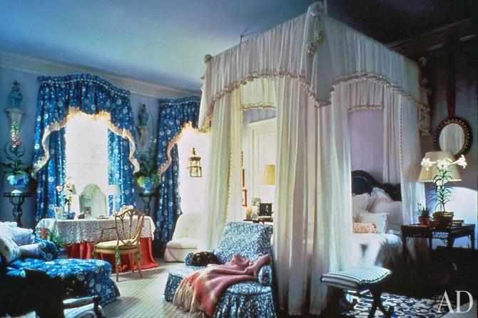 Mario Buattas Romantic Bedrooms Architectural Digest