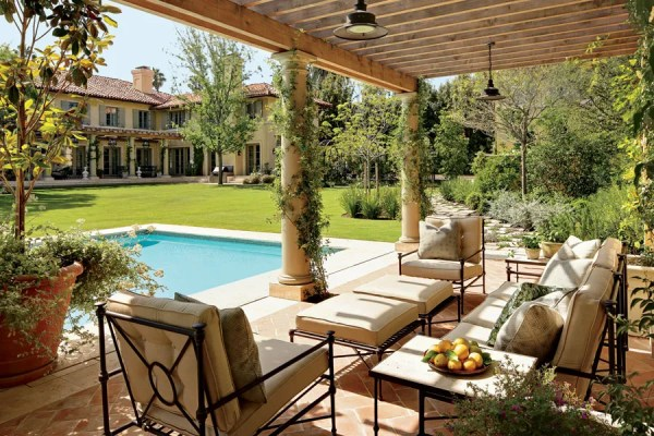 outdoor pool and patio design ideas Patio and Outdoor Space Design Ideas Photos