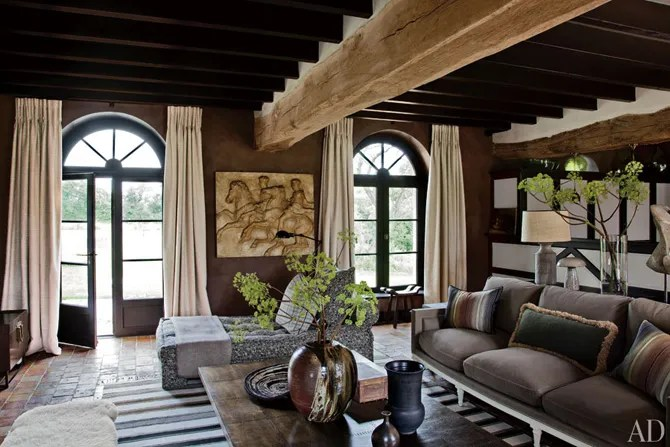 Jean-Louis Deniot Designs A Rustic Yet Sophisticated