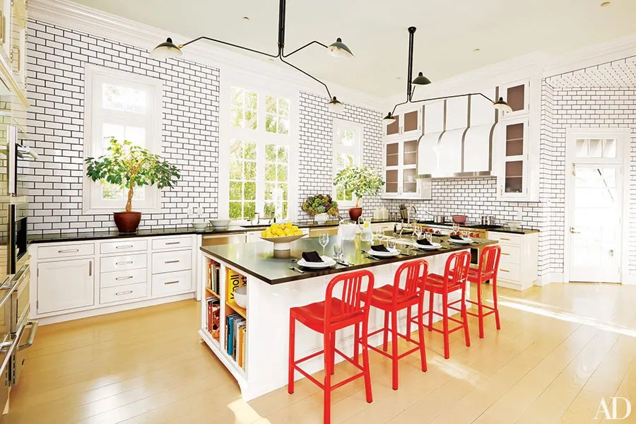 10 Kitchens With Colorful Accents Photos